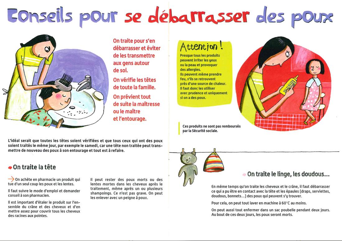 df717aa96f Informations sur les poux - Collège Le Bocage